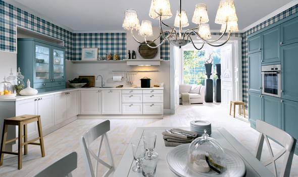 Cuisine campagnarde rustique 70 photo de cuisine moderne design contemporai - Cuisine campagnarde blanche ...