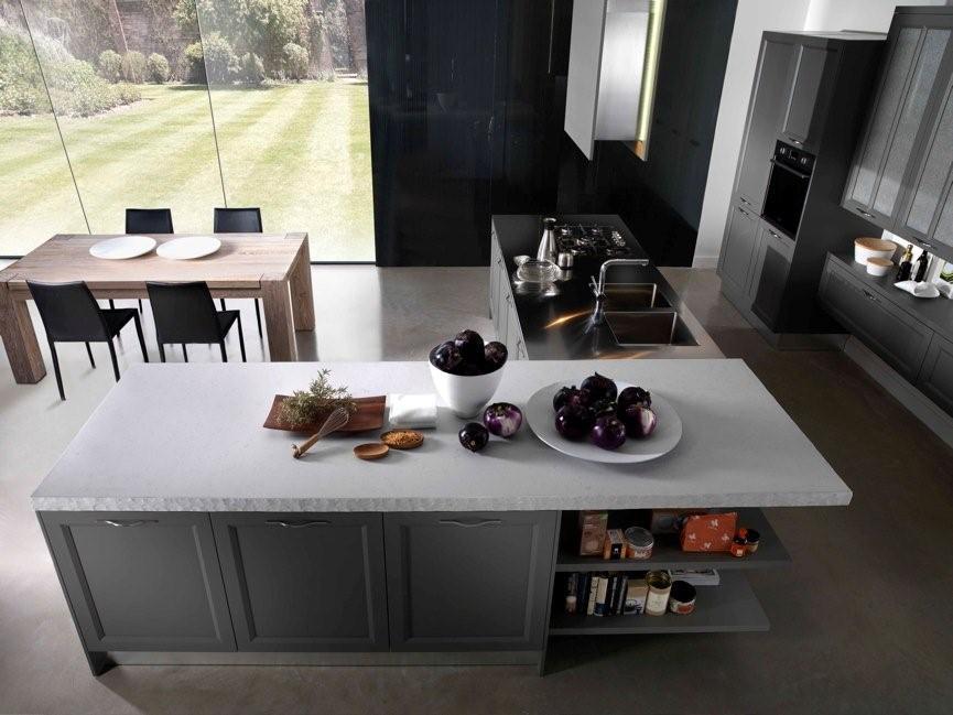 Cuisine campagnarde rustique 72 photo de cuisine moderne design contemporai - Cuisine campagnarde blanche ...