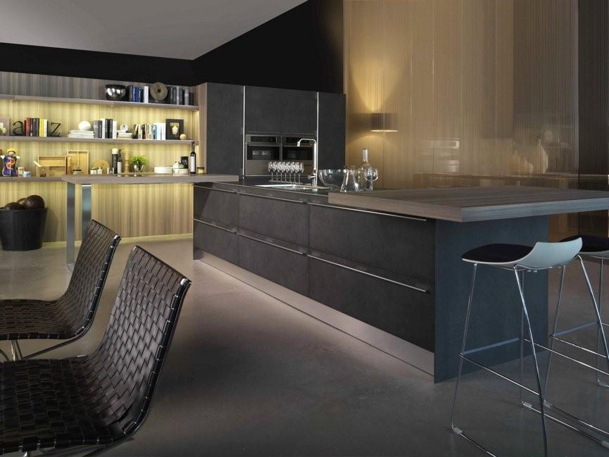 cuisine en stratifie 2 photo de cuisine moderne design contemporaine luxe. Black Bedroom Furniture Sets. Home Design Ideas