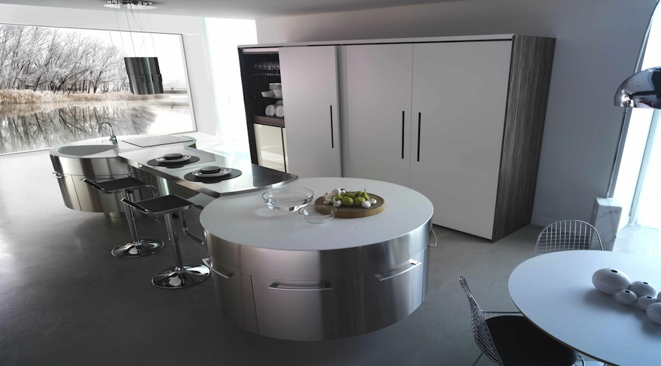 Cuisine Design En Bois :  moderne 11  Photo de cuisine moderne design contemporaine luxe
